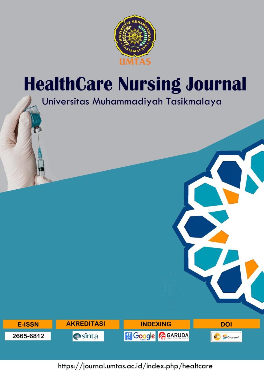 View Vol. 3 No. 1 (2021): Healtcare Nursing Journal