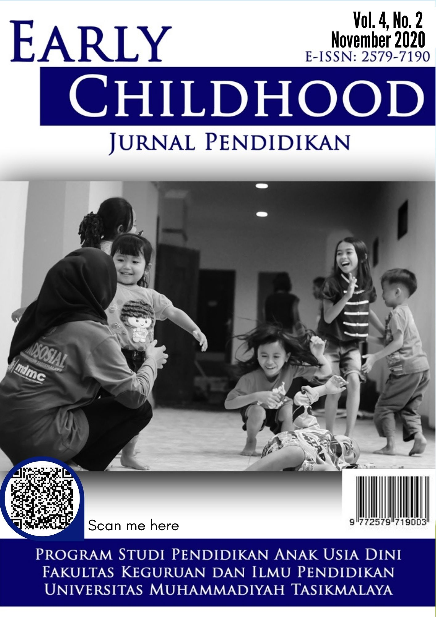 View Vol. 4 No. 2 (2020): Early Childhood: Jurnal Pendidikan
